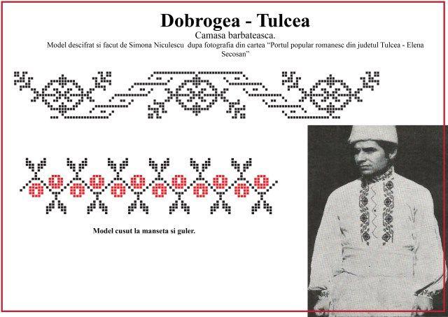 Model de camasa barbateasca din Tulcea, Dobrogea