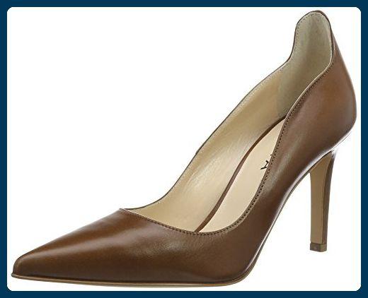 Evita Shoes Damen Natalia Pumps, Braun (Cognac 26), 42 EU - Damen pumps (*Partner-Link)