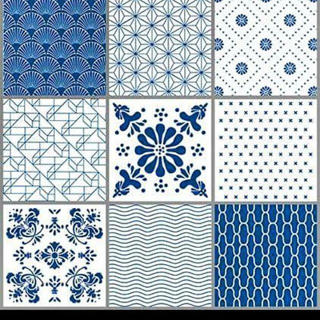 Og dette er TILE JUNKIE stickers. 9 stykker i pakken, eller du kan kjøpe enkeltvis. #tilejunkie #Tile #stickers #bathroom #kitchen #baderom #kjøkken #interiør #interiørnettbutikk