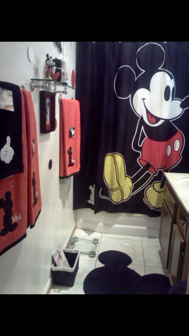 Best Mickey Mouse Bathroom Images On Pinterest Mickey Mouse - Mickey mouse bathroom faucets for bathroom decor ideas