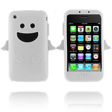 Felix (Valkoinen) iPhone 3G/3GS Silikonisuojus