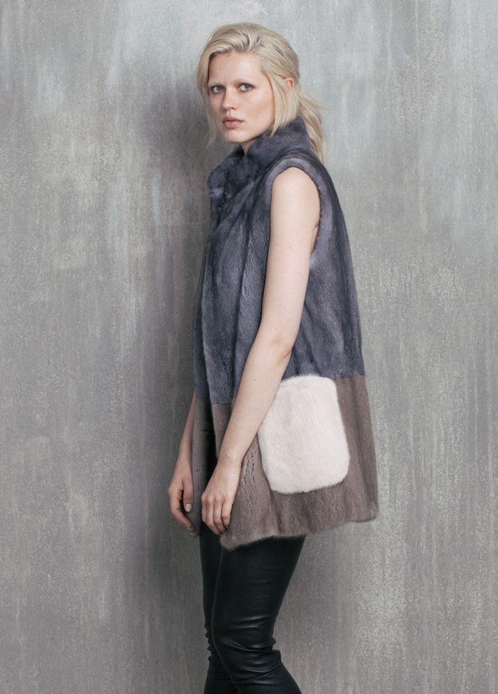 Vizelle Nolita fur vest