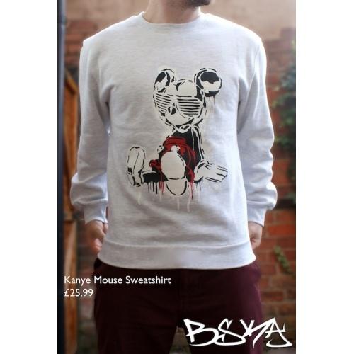 BSKA Kanye Mickey. On a jumper!