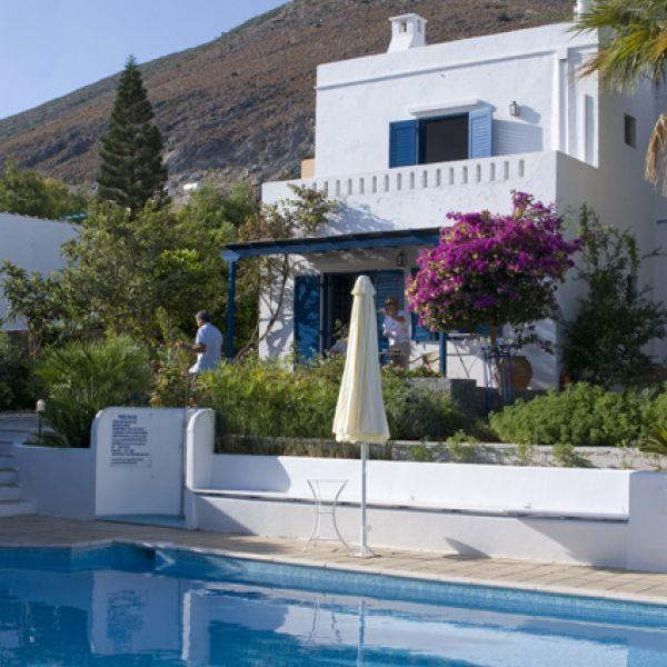 Kleinschalig hotel met zwembad op Kreta