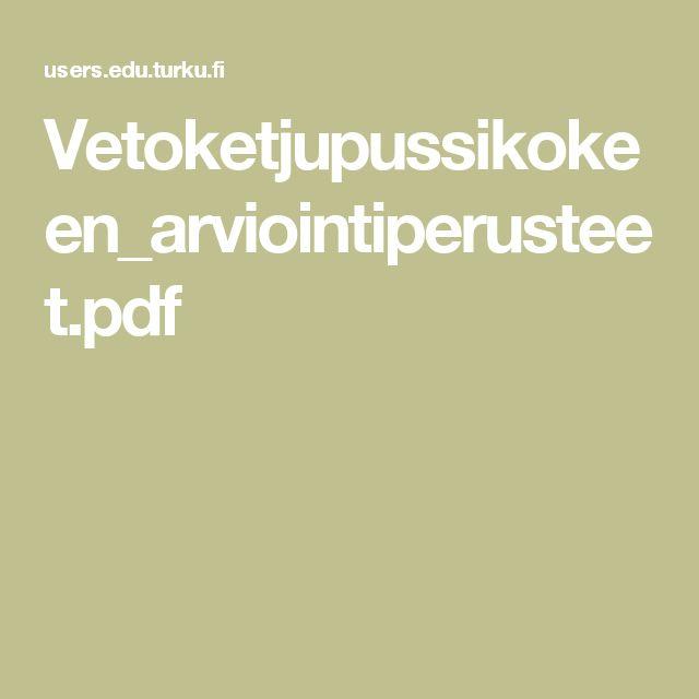 Vetoketjupussikokeen_arviointiperusteet.pdf