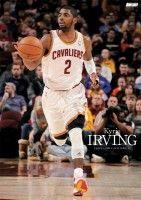 NBA カイリー・アービング選手のポスター。