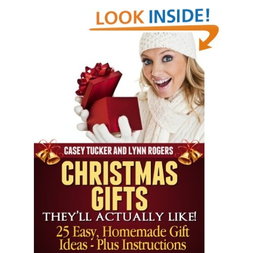 Free Kindle Book: 25 Easy Homemade Christmas Gift Ideas