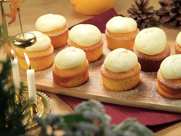 Saffranscupcakes med apelsinfrosting