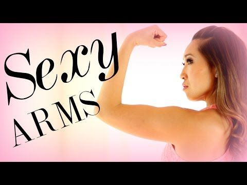 Great arm workout! No weights needed and super INTENSE! 6 Min to Sexy Arms! - YouTube