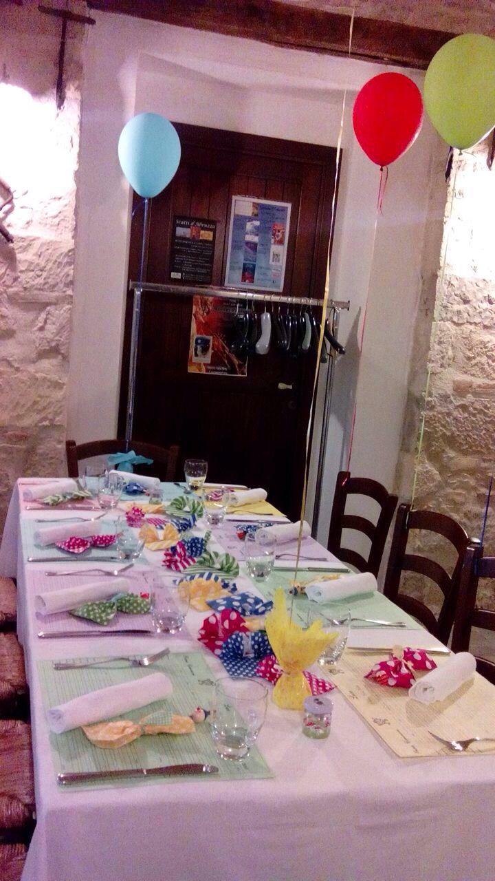 Comunione Luca ,tavolo dei bambini