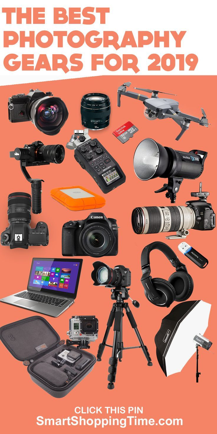 The Best Photography Gears For 2019 | Gear Guide| cool cameras