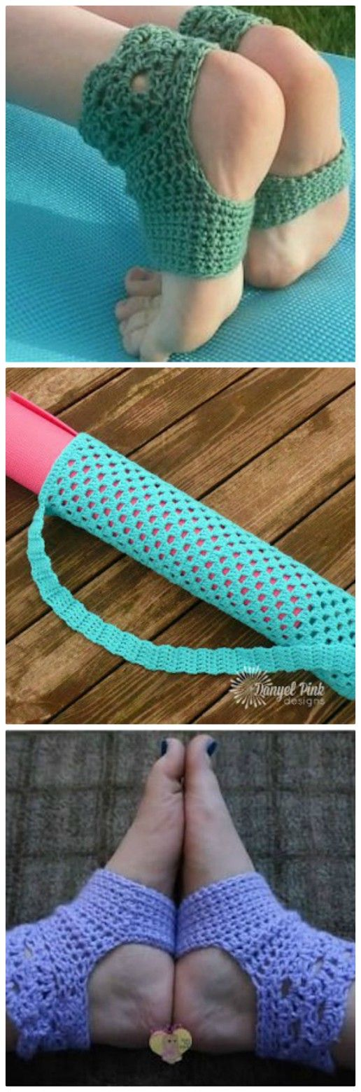 Crochet Yoga Socks Pattern Free Tutorials
