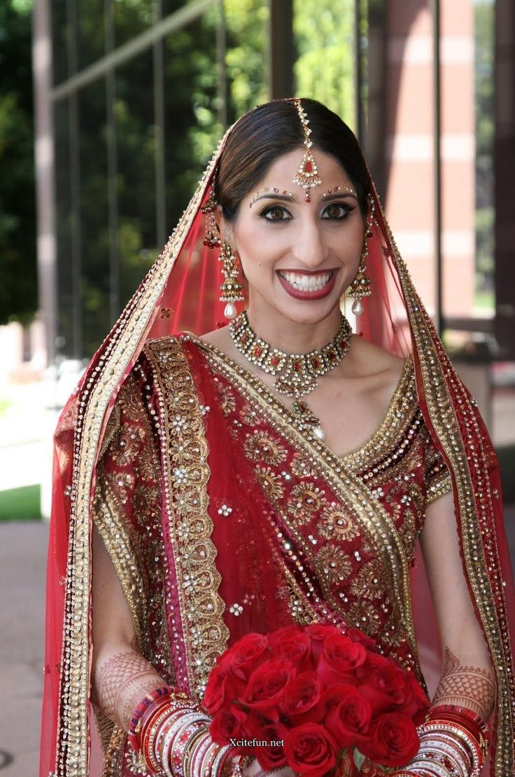 34 indian bridal traditional dress jewelry indian for Indian women wedding dress