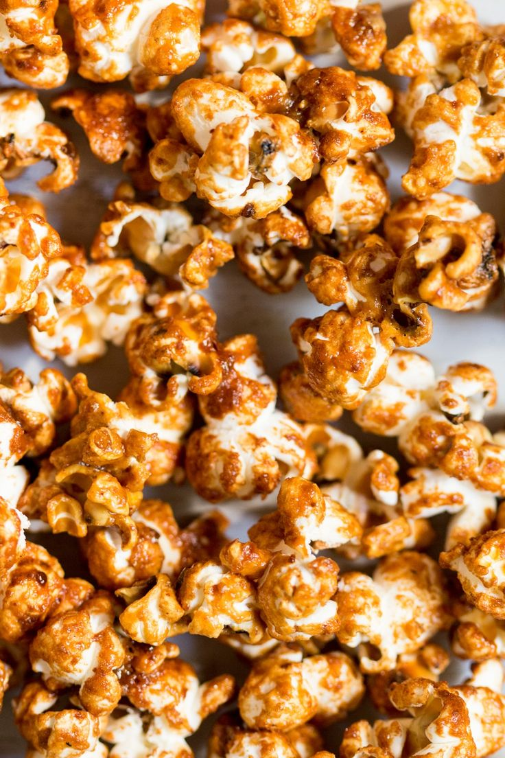 Miso-maple vegan popcorn - Lazy Cat Kitchen