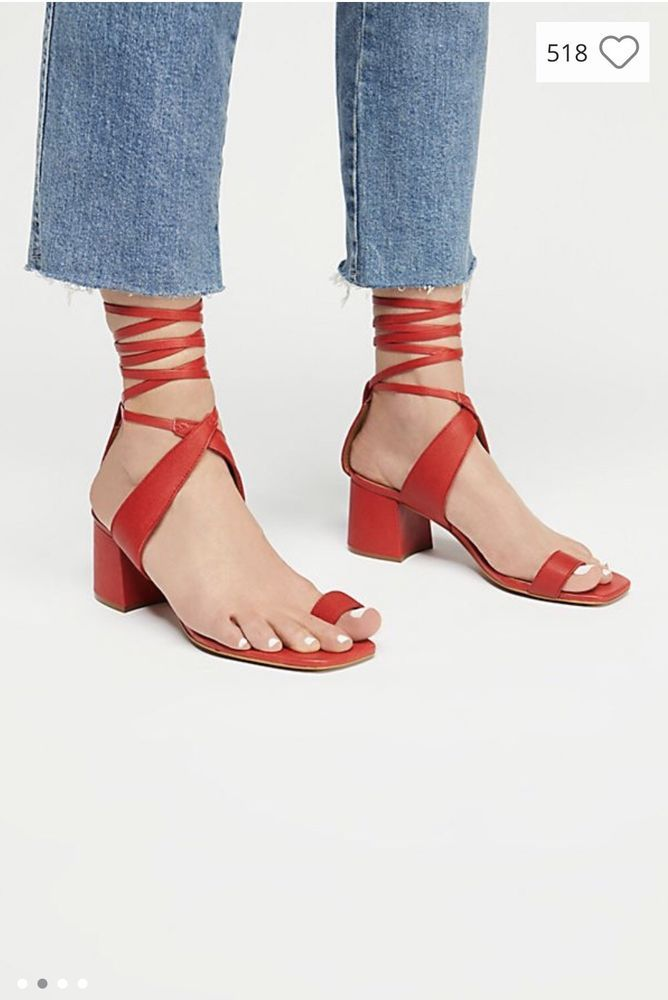 b72422577d01 Celine Dupe Toe Ring Heeled Sandal Sz 6  fashion  clothing  shoes   accessories