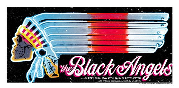 The Black Angels 2011 Black Irish Press