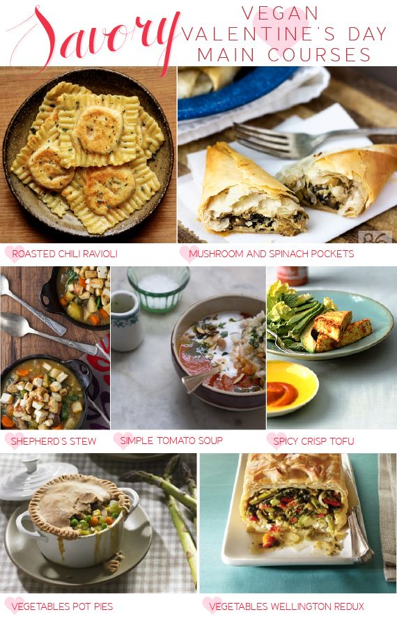 vegan valentines day recipes savory main dishes