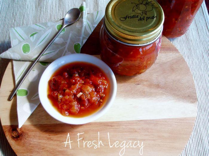 Fresh Tomato Chutney Recipe