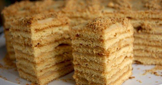 "Кулинарная книга Алии: 140. Торт ""Дамский каприз"""