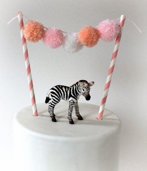 mommo design: HAPPY BIRTHDAY - lovely use of pompoms