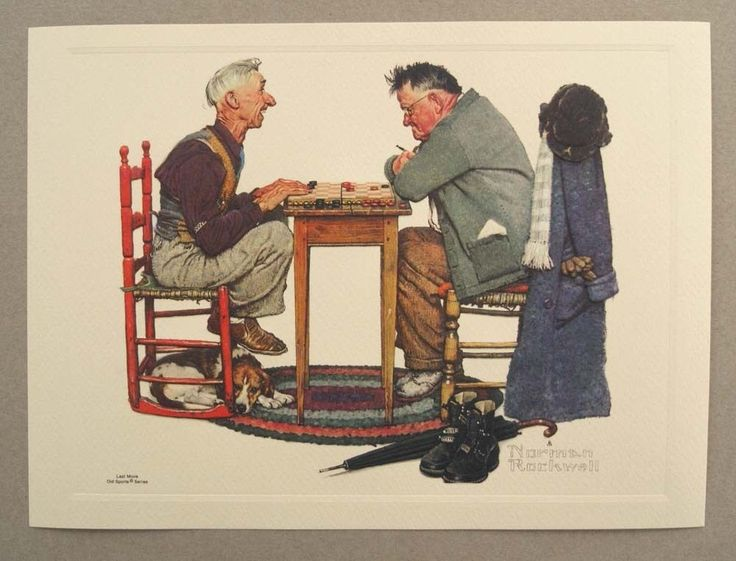 Vintage Norman Rockwell 104