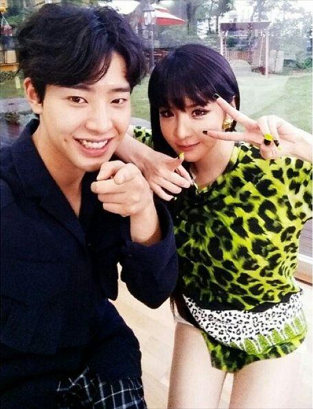 Minwoo & Park Bom from Roommate