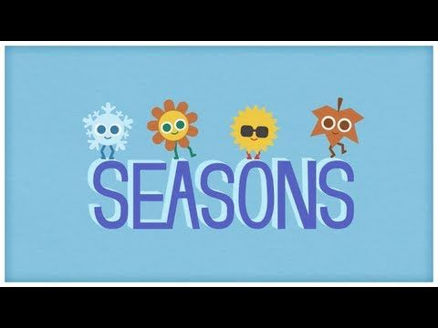 "▶ Time: ""Four Seasons,"" The Seasons of the Year by StoryBots - YouTube"