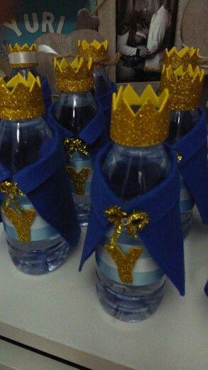 Garrafinhas de agua do principe