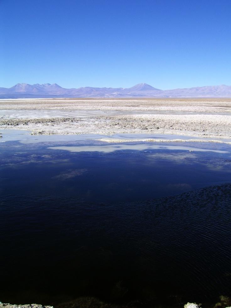 Salar de Pedernales, Mineral de El Salvador. Foto de Francisco Javier Páez Gamboa.