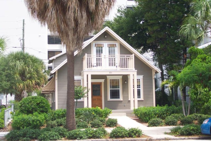 house color - pearl gray/white with natural finish wood door