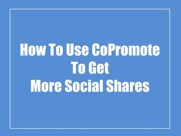 Get More Social Shares