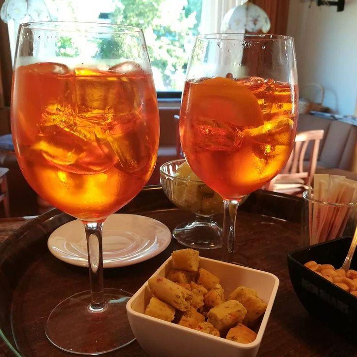 Aperol Sprits? #aperitivo #chezhcdc #invda #cocktail #drink #sprits
