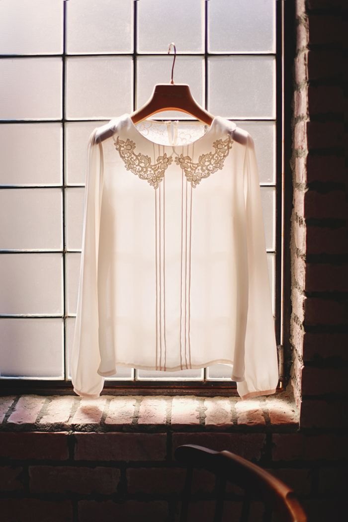 Pure Embroidery Blouse