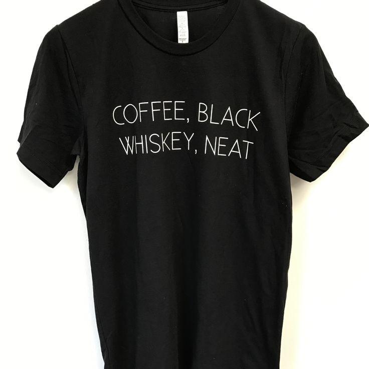 Coffee Black Whiskey Neat - Black