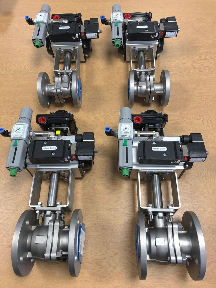 Pneumatic Actuated Flanged Ball Valves for Steam with