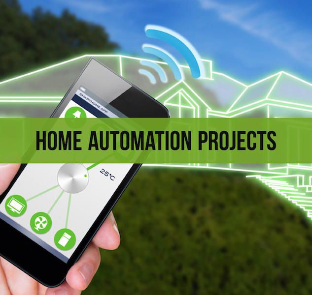 Here are best home automation projects ideas with different modules - dtmf, bluetooth, zigbee, wifi, rs based and miscellaneous for beginners.