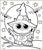 kostenlose druckbare halloween malvorlagen für kinder