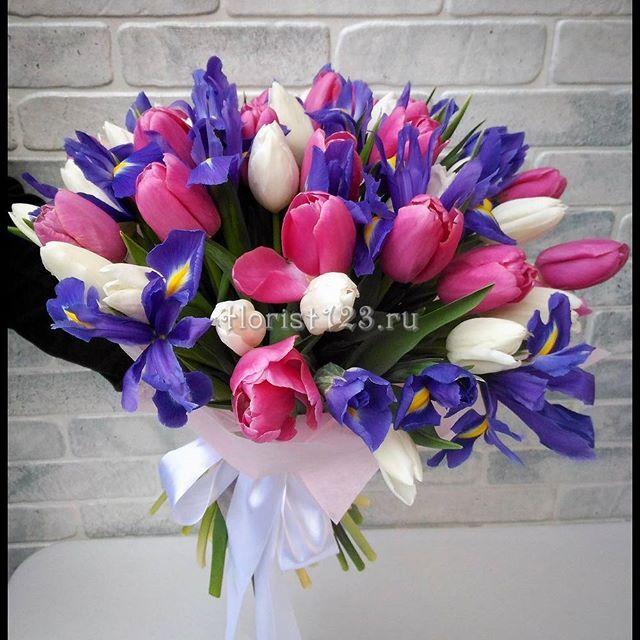 Букет из тюльпанов и ирисов #цветы #тюльпаны #ирисы #букет #букетназаказ #цветыназаказ #доставкацветов #доставкацветовкраснодар #цветочнаякомпозиция #краснодар #florist123 #cvetochniyvals #купитьбукет #цветывкраснодаре #цветыкраснодар #краснодарцветы #флорист123 #цветысдоставкой #цветысдоставкойвкраснодаре #цветысдоставкойкраснодар