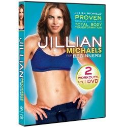 Jillian Michaels: For Beginners (Frontside/ Backside Combo)  Visit us at http://www.electricdiet.com