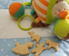 Rezept Kekse für Babys- zuckerfrei von bininanny – Rezept der Kategorie Baby-Be…