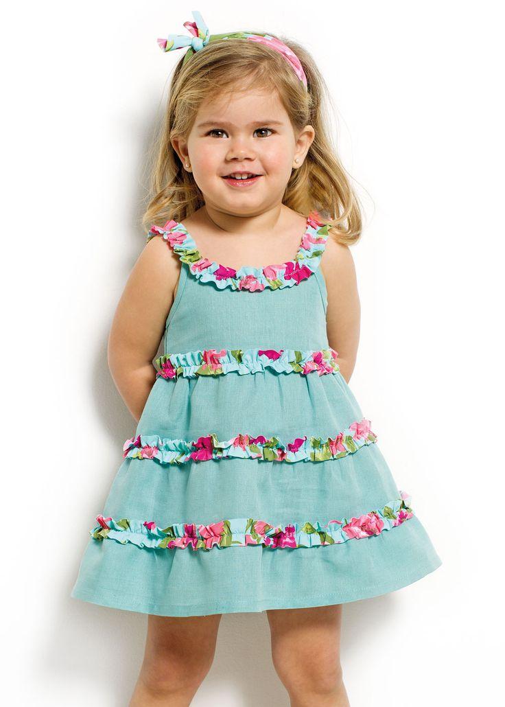 Vestido lino y lycra -