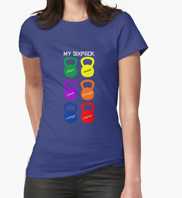 «Fitnoquit Camiseta SixPack Kettlebells» de jcmeneses