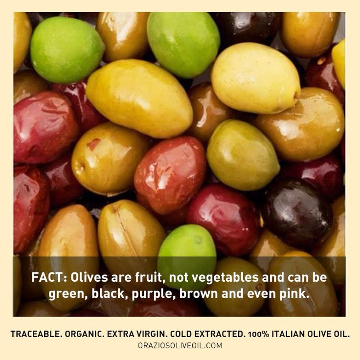 Fact: Olives are fruit and come in many colours! #evoo #oliveoil #oliveoilfacts