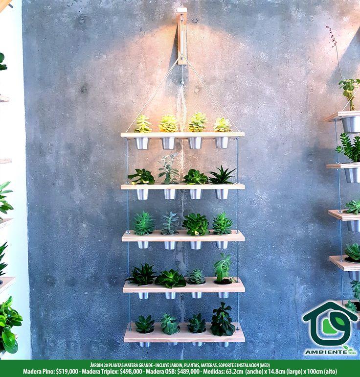 Vertical garden Jardines verticales