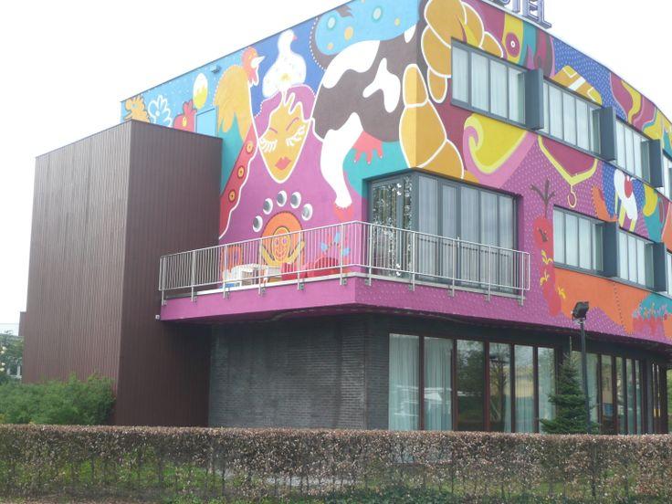 hotel Ten Cate Emmen, nu eigen foto's van de buitenkant. www.zonnestudio-rietlanden.nl