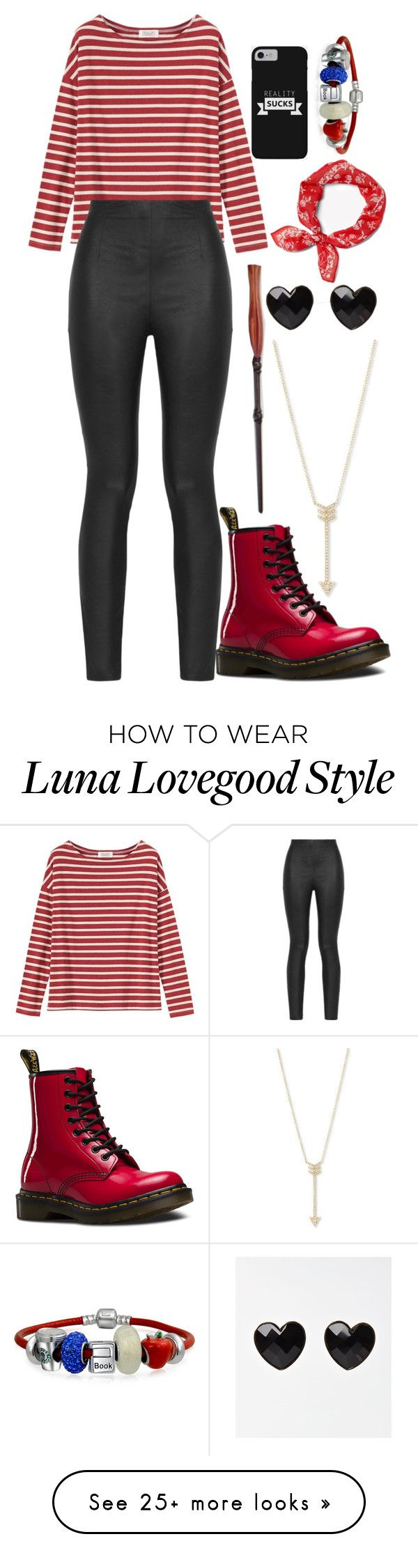 """""""Untitled #1094"""" by twisted-magic on Polyvore featuring Toast, Armani Jeans, EF Collection, Dr. Martens, Bling Jewelry and rag & bone"""