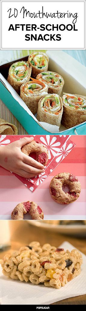 veggie Pinwheel - 20 Mouthwatering (and Healthy!) After-School Snacks That Won't Spoil Dinner