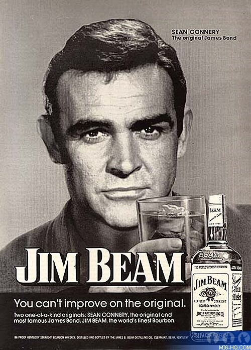 Whiskey And Bacon in the morning, Some old Jim Beam ads