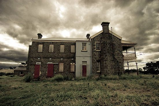 Abandoned Hospital w/ Balcony in Kyneton, Australia.