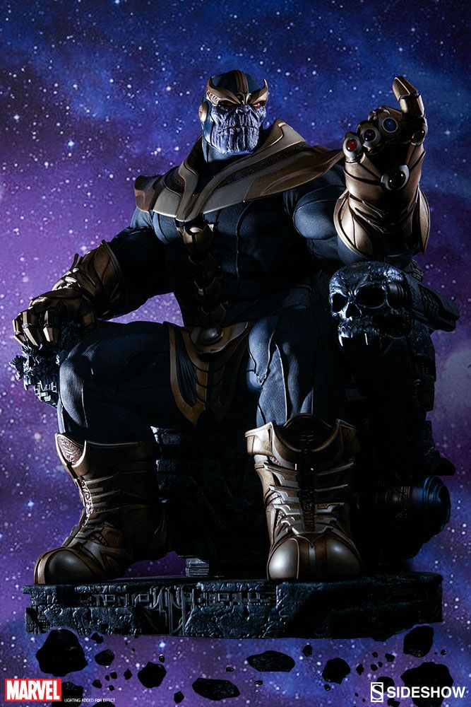 Sideshow Collectibles Thanos on Throne Will Have You Bowing To Its Greatness  #GOTG2 #sideshow #toys Sideshow Collectibles has a great track record of producing the finest in genre replicas, figures and statues. So when they decided to tackle The Mad ...